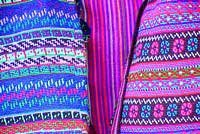 Photo of Guatemalan fabrics woven by hand