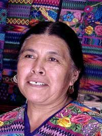 Photo of Guatemalan woman weaver