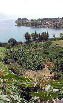 Photo of view from Guatemalan highlands