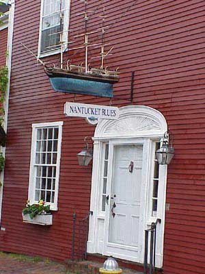 Photo of a preserved house on Nantucket