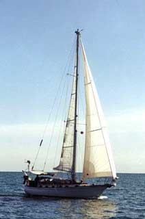 Photo of Ithaka sailing to Mexico