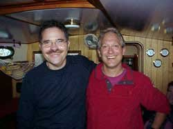 Photo of Jon Brett and Douglas Bernon