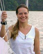 Photo of Kelly the sailing midwife