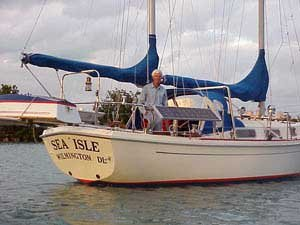 Photo of Ken aboard Sea Isle