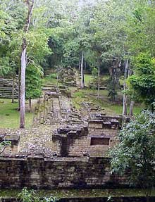 Photo of Mayan city of Copán