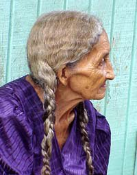 Photo of old Guanajan woman