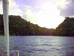 Photo of cruising the Rio Dulce