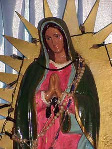 Photo of the virgin Mary