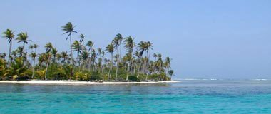 Photo of the remote and beautiful San Blas