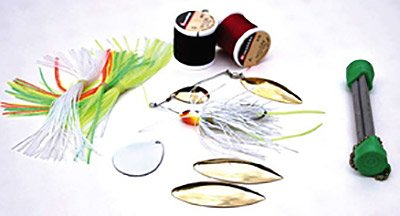 Photo of supplies to renew old fishing lures