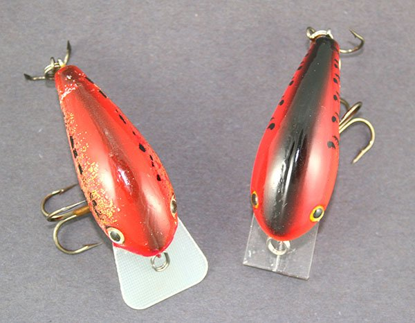 Photo of a finished crankbait