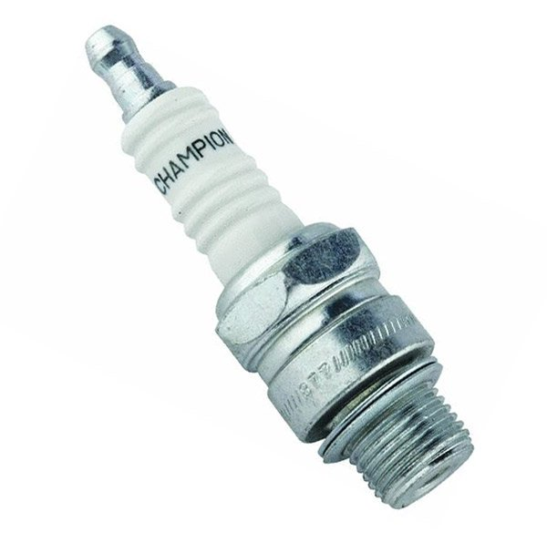Photo of a spare outboard spark plug