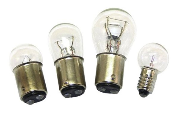 Photo of spare boat trailer bulbs