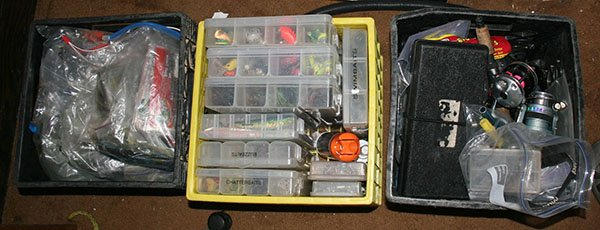 Photo of tackle storage