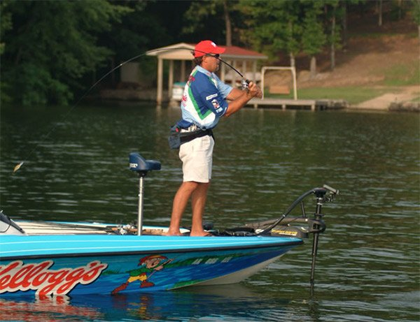 Photo of Berkley Pro Scott Suggs fishing