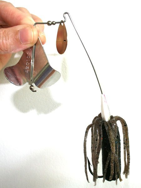 Photo of a modified buzzbait
