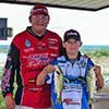 Thumbnail photo of Kurt Dove and Camdyn with his catch