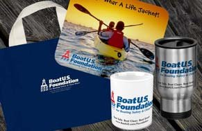 From mugs to bags to mouse pads, your BoatU.S. Foundation purchase benefits our initiative
