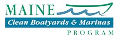 Logo for Maine clean marinas