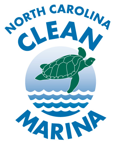 Clean marina logo for the state of North Carolina