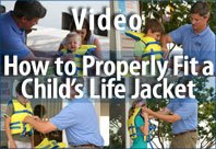 How To Properly Fit a Child's Life Jacket