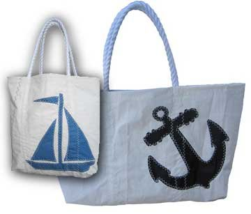 Black anchor bags