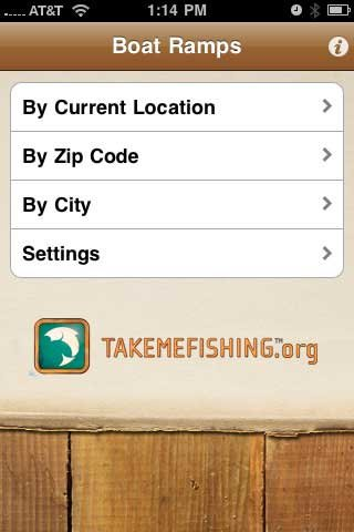 Photo of the Boat Ramps app