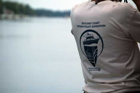 Photo of a East Coast Ocean Policy Expedition T-shirt