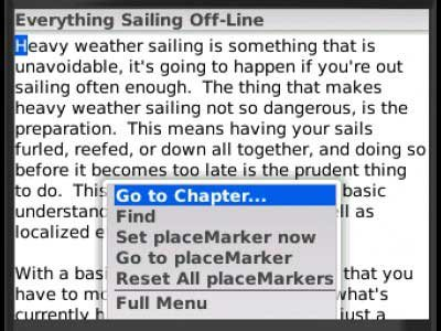 Photo of the Everything Sailing app