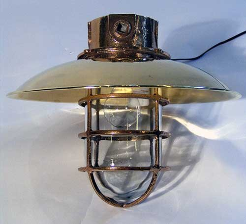 Lannan Lamp Donnely bulkhead light