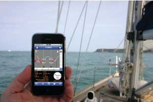 Photo of the Marine Day Tides app