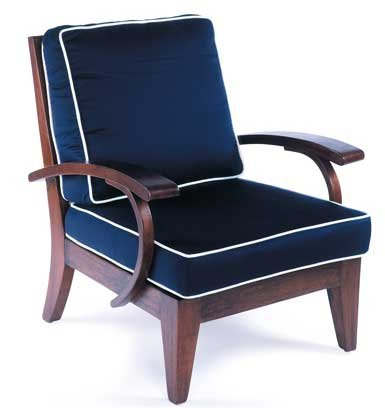 Nautical club chair