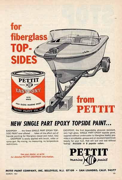 Photo of a Pettit Easy Epoxy ad