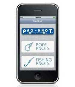 Photo of the Pro Knot app