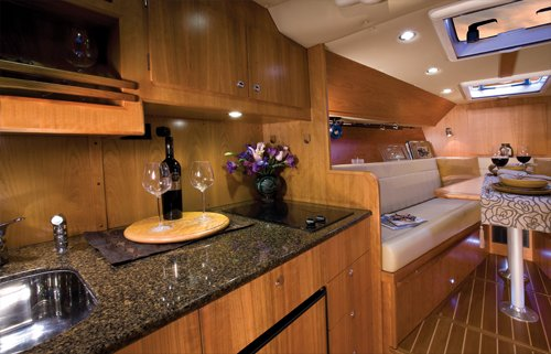 Photo of a Coastal Craft 30 Open interior