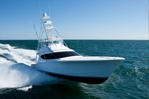 Photo of a Hatteras GT54