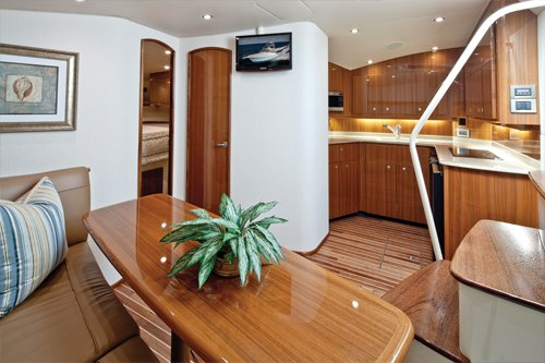 Photo of a Viking 42 interior