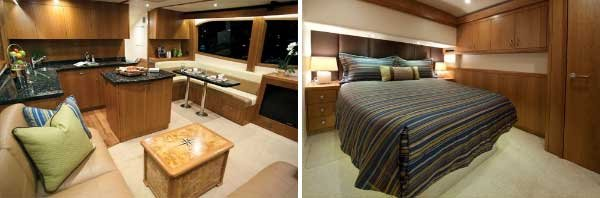 Photo of Hatteras GT54 interior