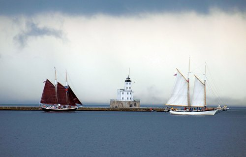 Photo of Milwaukee Harbor on Lake Michigan