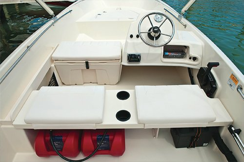 Photo of Boston Whaler 170 Super Sport interior