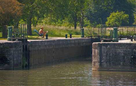 Photo of a friendly lock keeper