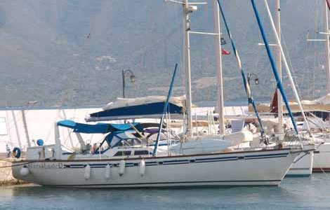 Photo of Stressbuster, an Atlantic 70, docked in Plaka
