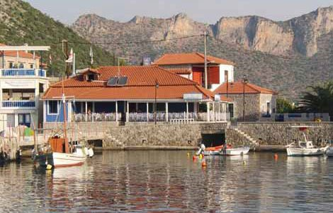 Photo of the fishing village of Plaka