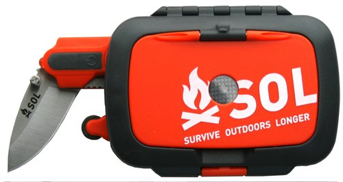 Photo of an SOL Original Survival Kit
