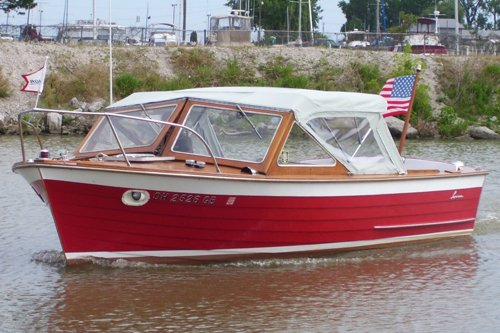 Photo of a 1966 21-foot Lyman boat
