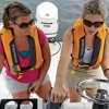 Thumbnail photo of two women driving a Mako 19 powerboat