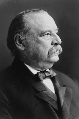 Photo of President Grover Cleveland