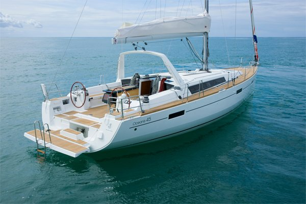 Photo of the Beneteau Oceanis 45