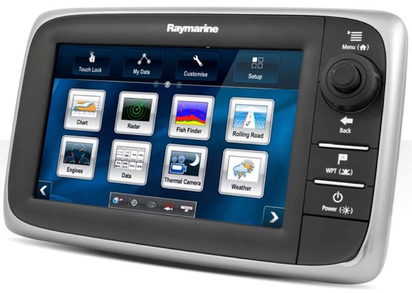 Photo of Raymarine e7 MFD