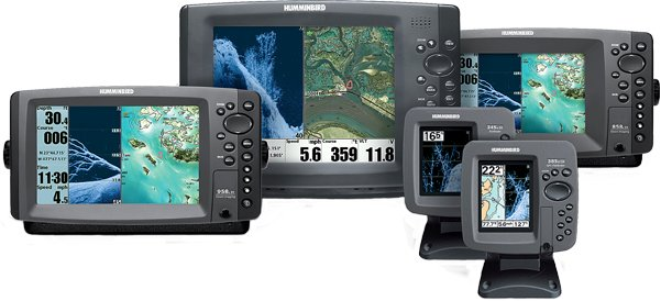 Photo of Humminbird 700HD, 800, 900, and 1100 series models